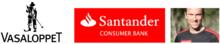 Santander Consumer Bank ny officiell partner till Vasaloppet