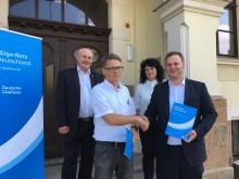 Rathaus Brandis setzt auf Heimat 4.0 – Bürgermeister Arno Jesse schließt Kommunalvertrag für 12 Liegenschaften