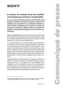 Communication de presse_Netflix en Suisse_F-CH_140918