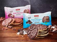 Chokladkant på tillvaron – ekologiska majskakor doppade i choklad