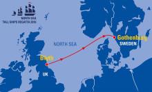 Stena Line och Stena Bulk huvudpartner för North Sea Tall Ships Regatta Göteborg 2016