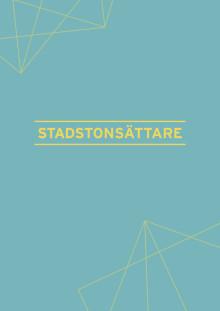 Stadstonsättare i Sveriges kommuner