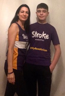 Doncaster woman joins the resolution for the Stroke Association