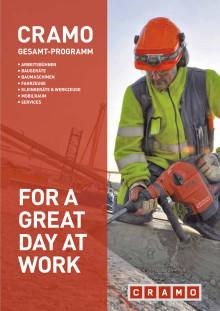 Cramo Gesamtkatalog Bau-Equipment 2016