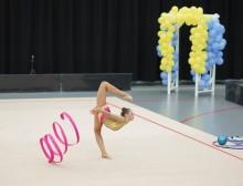 Nya svenska mästarinnor när SM och JSM i rytmisk gymnastik avgjordes i Uppsala