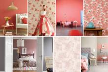 Fortsatt trendigt att inreda med rosa nyanser i hemmet