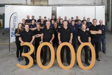 Berco har tillverkat 3000 transportskåp till Volkswagen