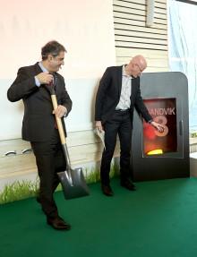 Energiministern invigde Växjö Energis nya kraftvärmeverk Sandvik 3!