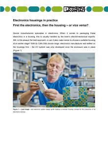 Electronics housings in practice