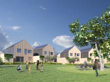 Träarkitektur och hållbarhet vinnare i Järfällas småhustävling