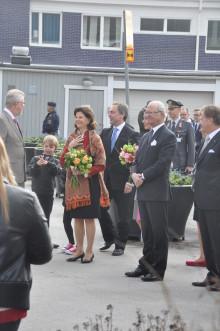 Officiellt statsbesök till Väsby!