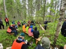 Välbesökt konferens med skogen i fokus