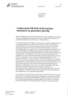 Öppet brev till Trafikverkets generaldirektör Lena Erixon
