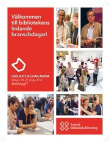 Pressinbjudan: Biblioteksdagarna i Växjö 10-11 maj