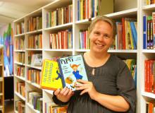 Skolbibliotekarie deltar på internationell bokmässa