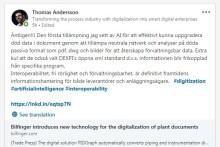 PIDGraph, Bilfingers AI-verktyg för konvertering av dokument till digital anläggningsdokumentation