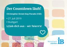 Der Countdown läuft: Der IB bekennt Farbe(n) bei der CSD-Politparade am Samstag in Stuttgart
