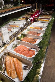 Lappländsk blodpudding och akvavitlax på Tyrols Vilda Julbord