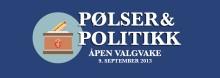 Pølser & politikk hos Cappelen Damm. Velkommen til valgvake