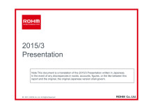 2015/3 Year End Presentation