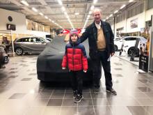 Ulf jubilerar med sin tionde Mercedes S-klass