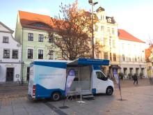 Beratungsmobil der Unabhängigen Patientenberatung kommt am 27. März nach Cottbus.