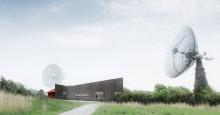 Rymden kommer närmare med klimatsmart besökscentrum i Onsala
