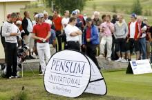 Pensum - idrottsvärldens försäkringsmäklare nummer ett står bakom Peter Forsbergs kändisgolftävling, som ingår i SAS Masters Tour den 13-15 augusti