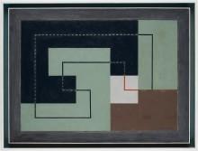 """Erik Olson, """"Concret 1930 – Composition N"""" på Modern Art + Design"""