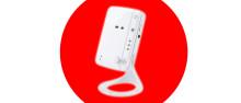 Wifi-övervakningskameran som ser i mörker