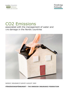 CO2 Emissions associated with the management of water and fi re damage in the Nordic countries