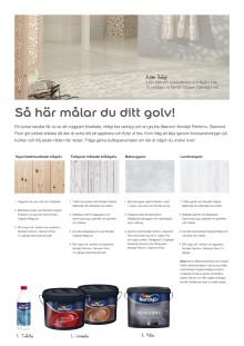 Nordsjö - Så här målar du ditt golv.