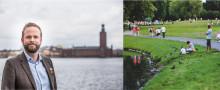C presenterar: Storsatsning på Stockholms parker