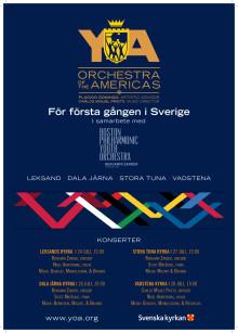 Världsorkester gästar Sverige