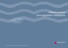 Folkuniversitetets personalpolitiska ramprogram