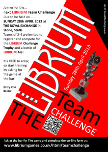 The 4th LIBRIUM Games Team Challenge
