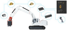 Movax loggbok och kontrollsystem dokumenterar pålningsarbetet