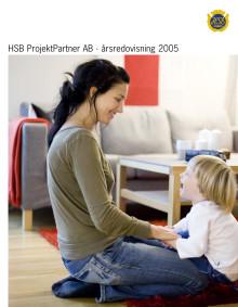 HSB ProjektPartner Årsredovisning 2005