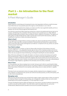 Volkswagen fleet manager guide