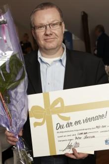 Peter i Helsingborg vann 1 miljon på lott från Miljonlotteriet!