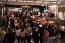Proppfullt när Sveriges första Comfort Hotel Xpress invigdes