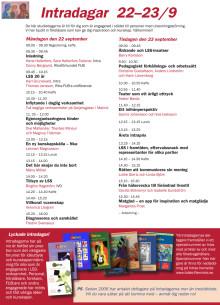 Program Intradagarna 2014