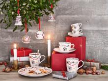 """Hutschenreuther - Sammelkollektion Weihnachtslieder """"Schneeflöckchen, Weißröckchen"""""""