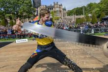 Emil Hansson klar för Timbersports World Trophy 2020