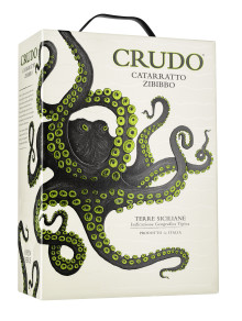 Nu på box! Crudo Catarratto Zibibbo från Sicilien