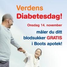 Gratis blodsukkermålig hos Boots apotek