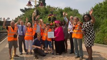 Stratford-upon-Avon station blooms for visitors thanks to partnership with community