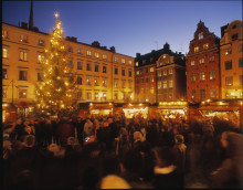 Stockholmstips: Stortorgets Julmarknad i Gamla Stan