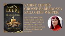 Sabine Ebert präsentiert den 4. Band ihrer erfolgreichen Barbarossa Saga!