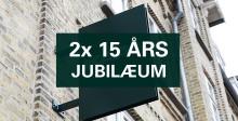 2 x 15 års jubilæum